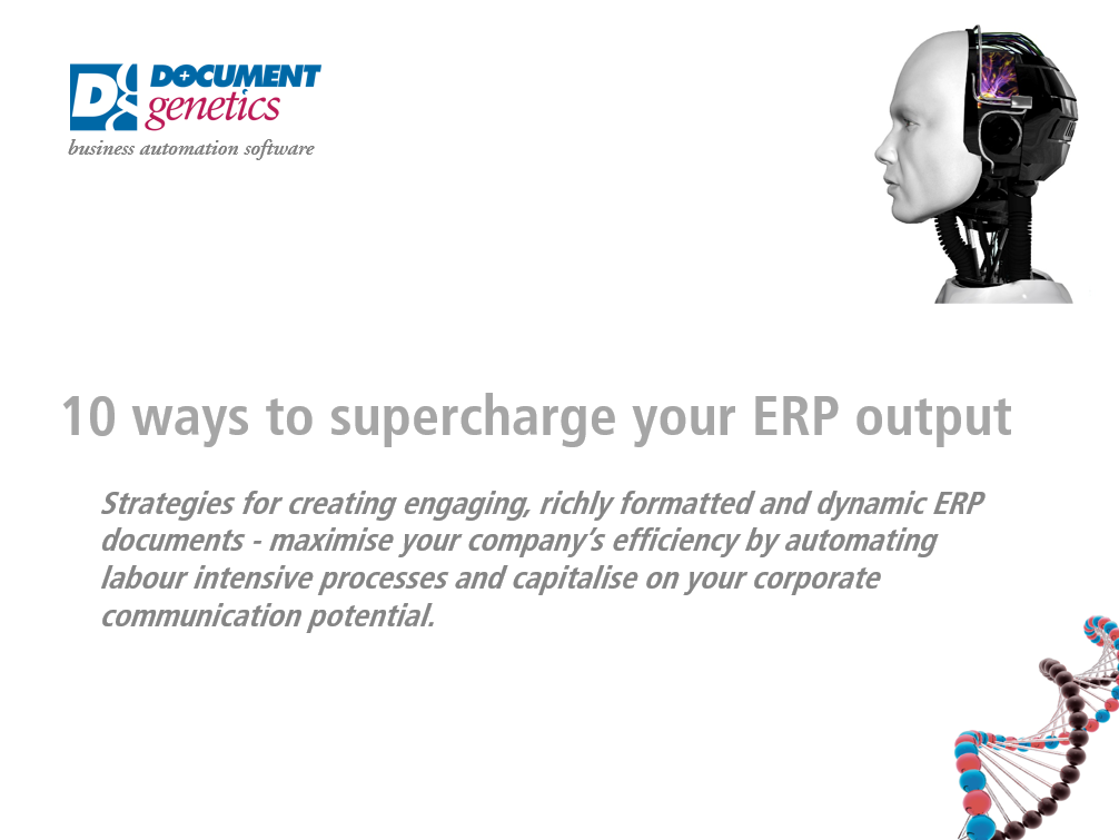10 ways to Supercharge your ERP Output
