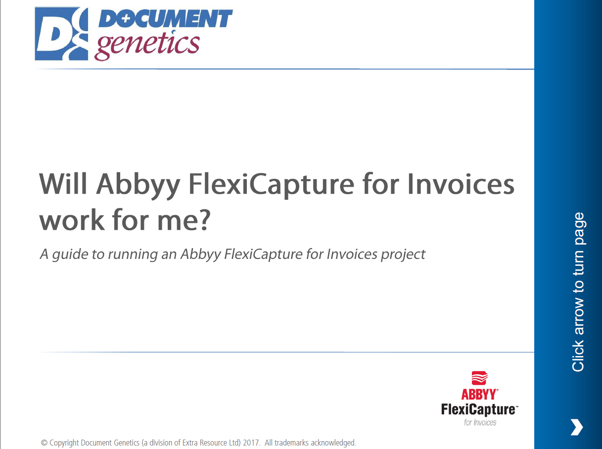 A guide to implementing an ABBYY for Invoices Project