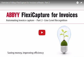 Abbyy for Invoices Video for Line Level Recognition